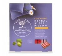 Herbal sleep pillow calming