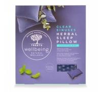 Herbal sleep pillow clear sinuses